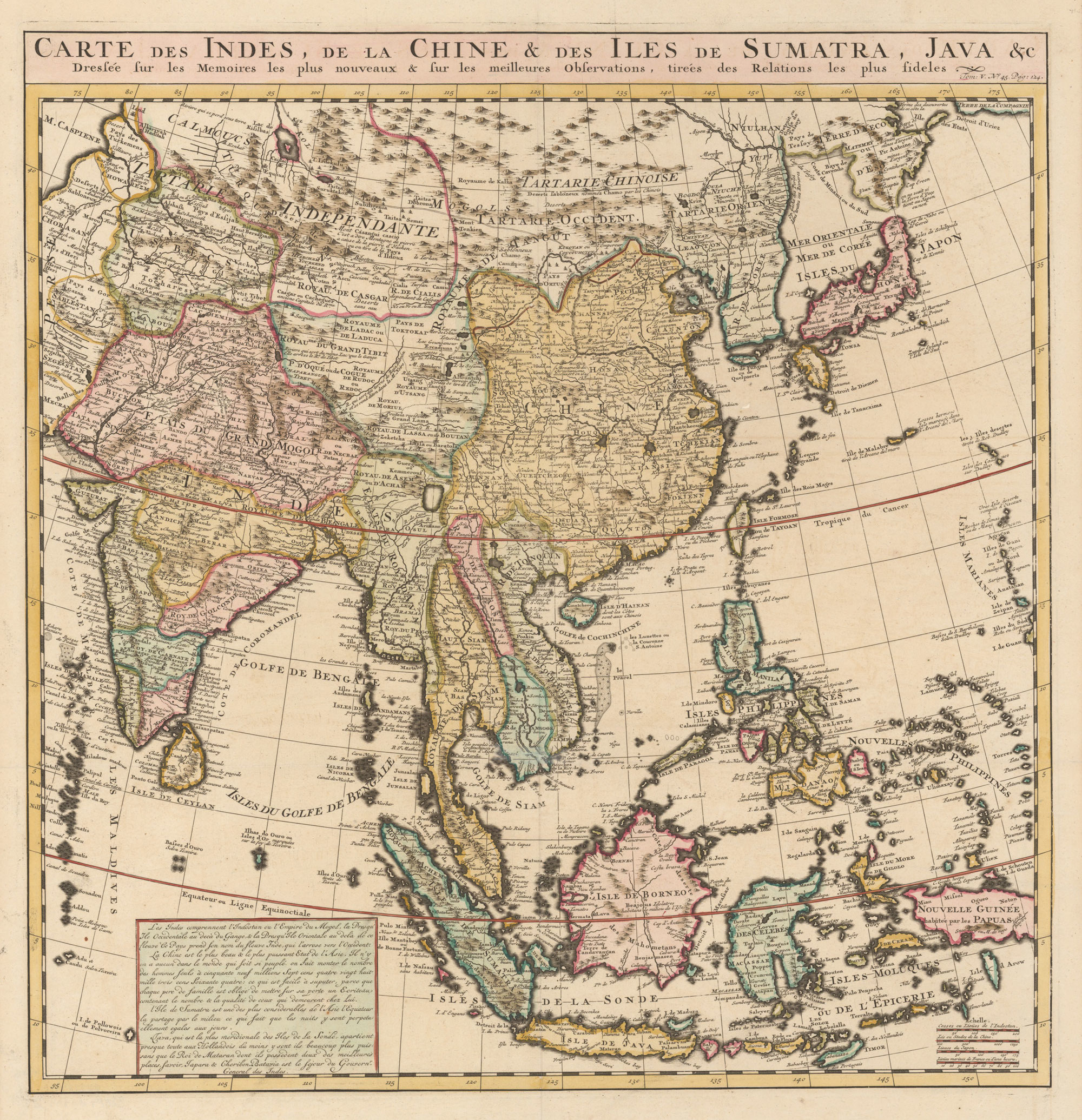 Antique Map South East Asia by Chatelain | Bartele ...