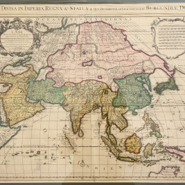 Antique Map of Asia by De L'Isle (c.1721)