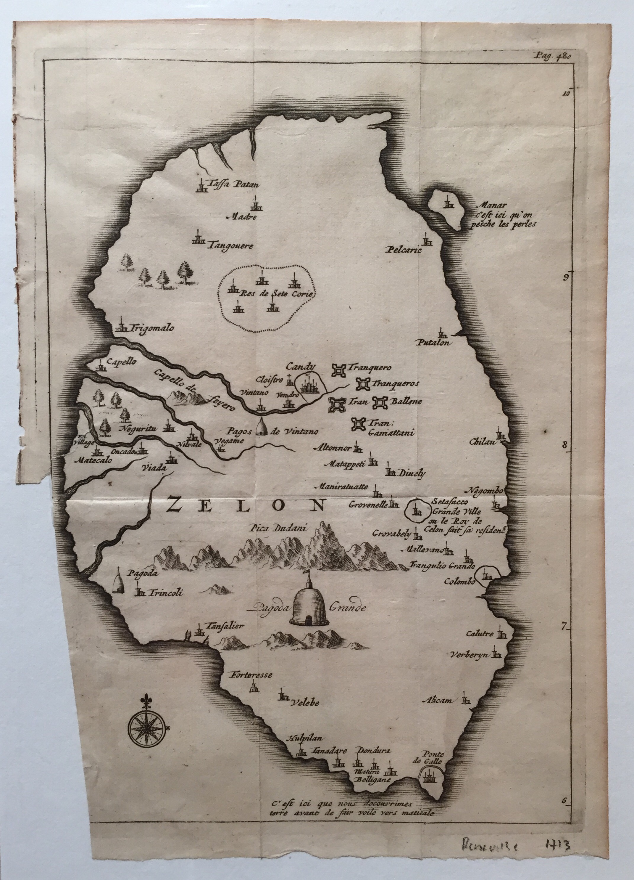 Antique Map Ceylon by Renneville (c.1705) - SOLDBartele Gallery on tunis map, sumatra map, timbuktu map, bengal map, punjab map, moluccas map, canton map, south asia, malaysia map, china map, kiev map, ghana map, burma map, japan map, gujarat map, kabul map, damascus map, morocco map, singapore map, tibet map, congo africa located on map,