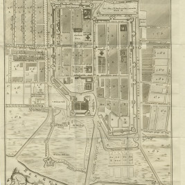 Antique Map of Batavia