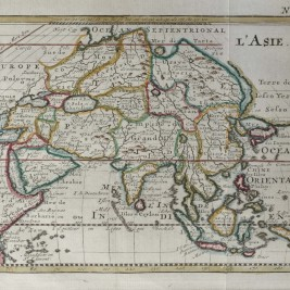 Map of Asia by Bossuet