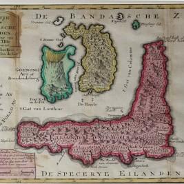 Antique map Banda Islands