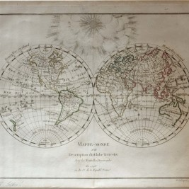 World Map by Picquet