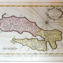 Map of Ambon