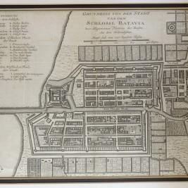 Map of Batavia