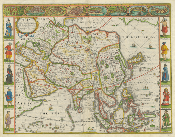 antique maps, plans & charts