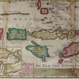 Map Banda Islands
