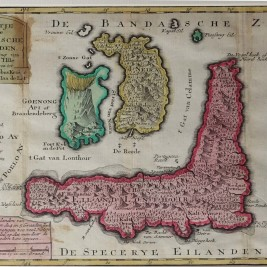 Antique map Banda Islands