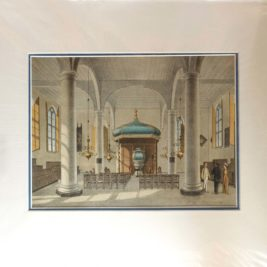 Church interior Batavia