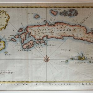 Map of the Moluccas