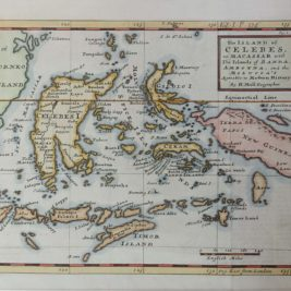 Map of Celebes