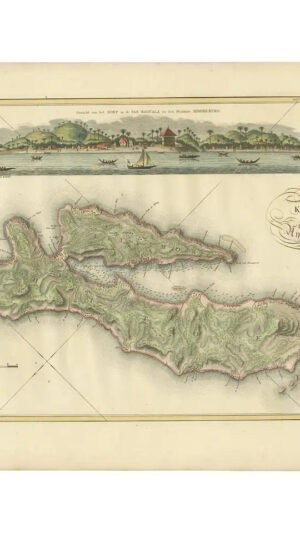 Map of Ambon Island