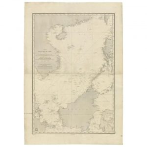 Sea Chart of the South China Sea