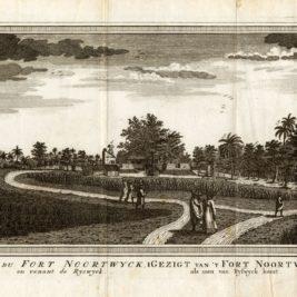 Vue du Fort Noortwyck - Schley (1750)