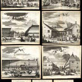 Complete set Batavia - Nieuhof (1682)