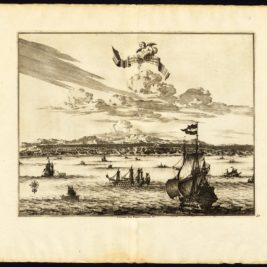 Antique Print of Amboina by Van der Aa (c.1725)