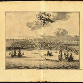 Antique Print of Makassar by Van der Aa (c.1725)