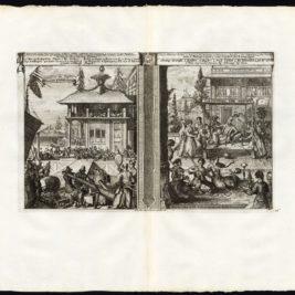 Pl.16 Commerce du Japon/Japanse Koophandel - Van der Aa (1725)