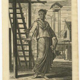 A Souldier of Amboina - Nieuhof (1744)