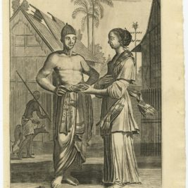 A Javanese Man and Wooman - Nieuhof (1744)