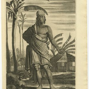 A Marchant of Java - Nieuhof (1744)
