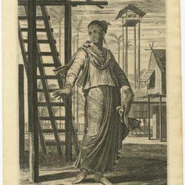 A Mestice Wooman - Nieuhof (1744)