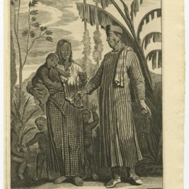 A Negro Pedler with his wife - Nieuhof (1744)
