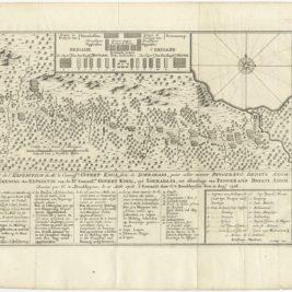 Aftekening der Expeditie van de Hr. Commissaris Govert Knol uyt Soerabaja (..) - Van Schley (c.1750)