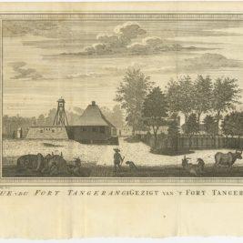 Vue du Fort Tangerang - Van Schley (1763)