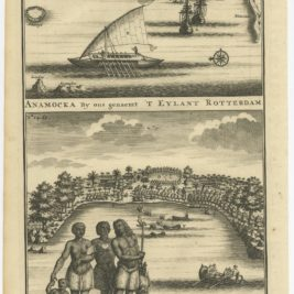 Anamocka by ons genaemt 't Eylant Rotterdam - Valentijn (1726)