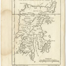 Antique Map of Celebes (Sulawesi) by Bellin (1754)