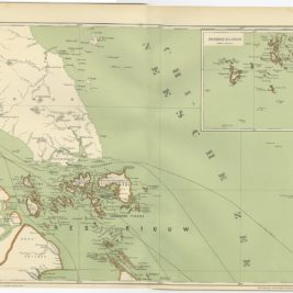 Antique Map of the Riau Islands by Dornseiffen (1900)