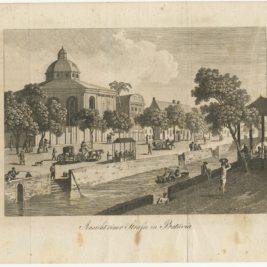 Antique Print of Batavia (c.1820)