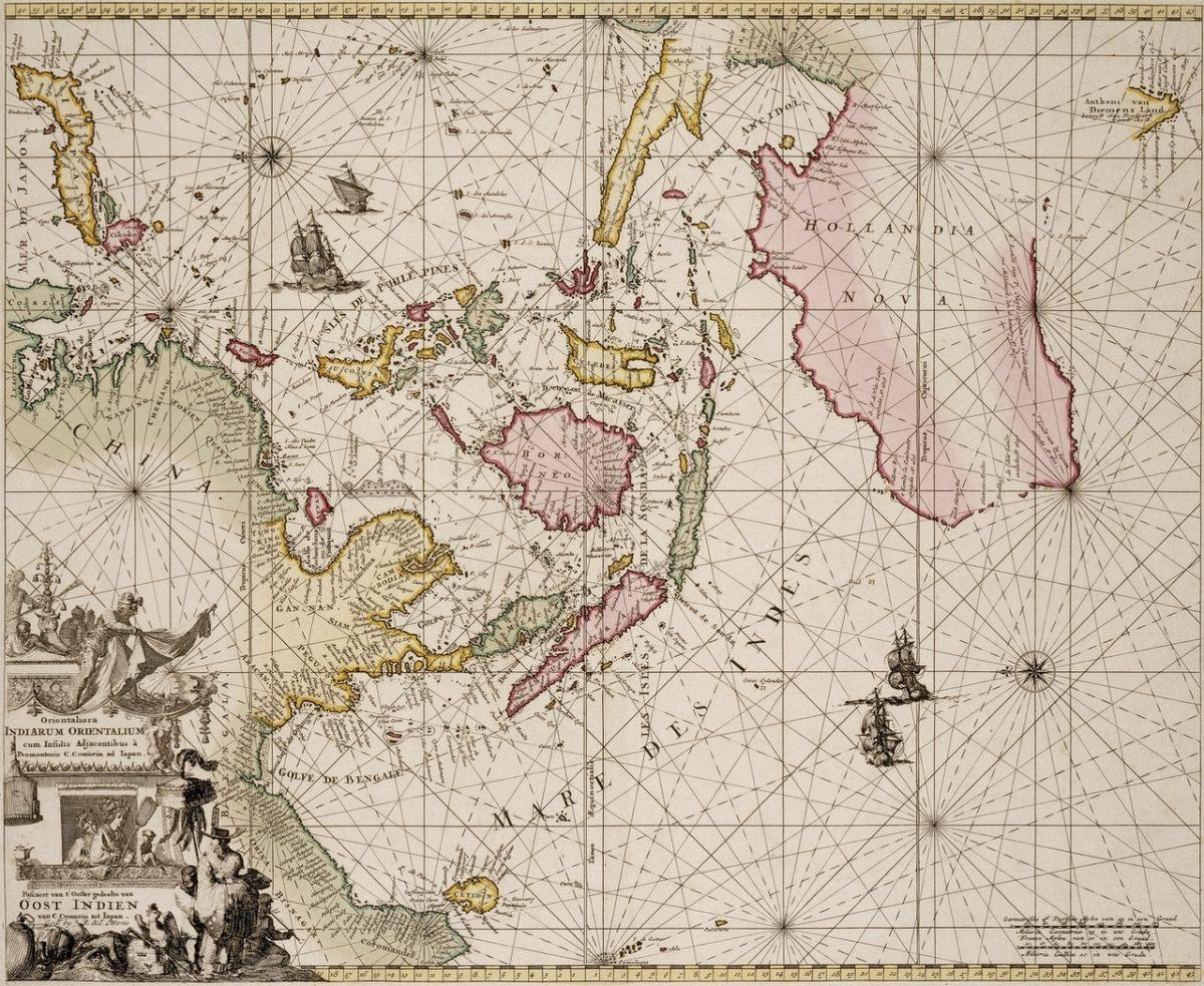 Sea Chart of Australia