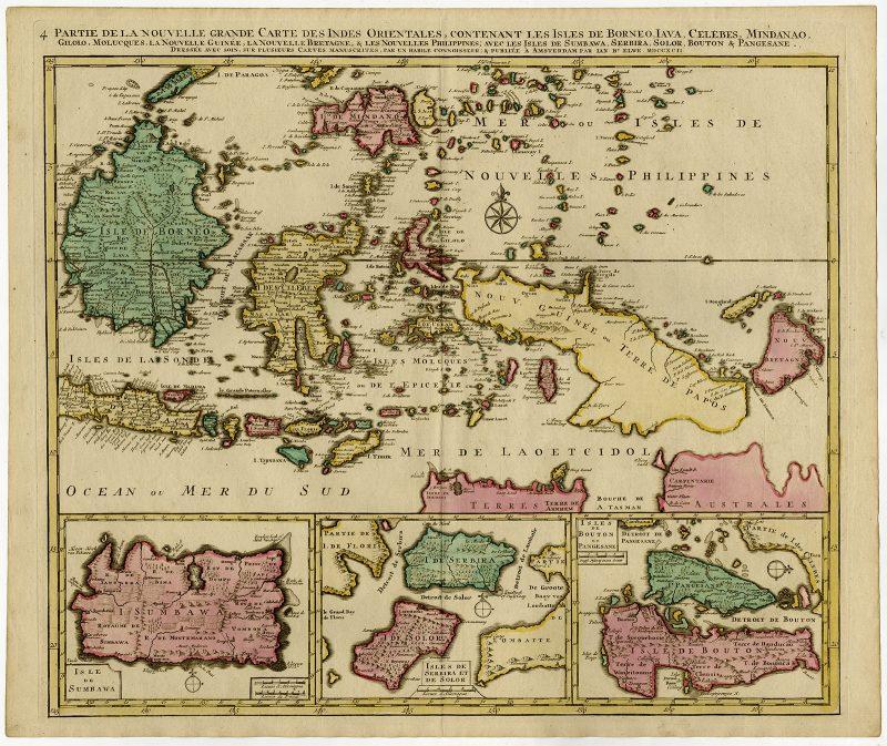 Partie de la Nouvelle Grande Carte des Indes Orientales (..) - Elwe (1792)