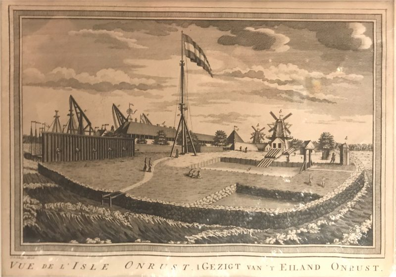Onrust Island - Bellin (c.1770)