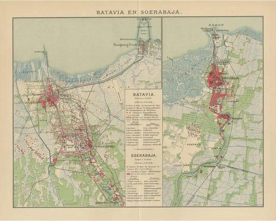 Batavia and Surabaya