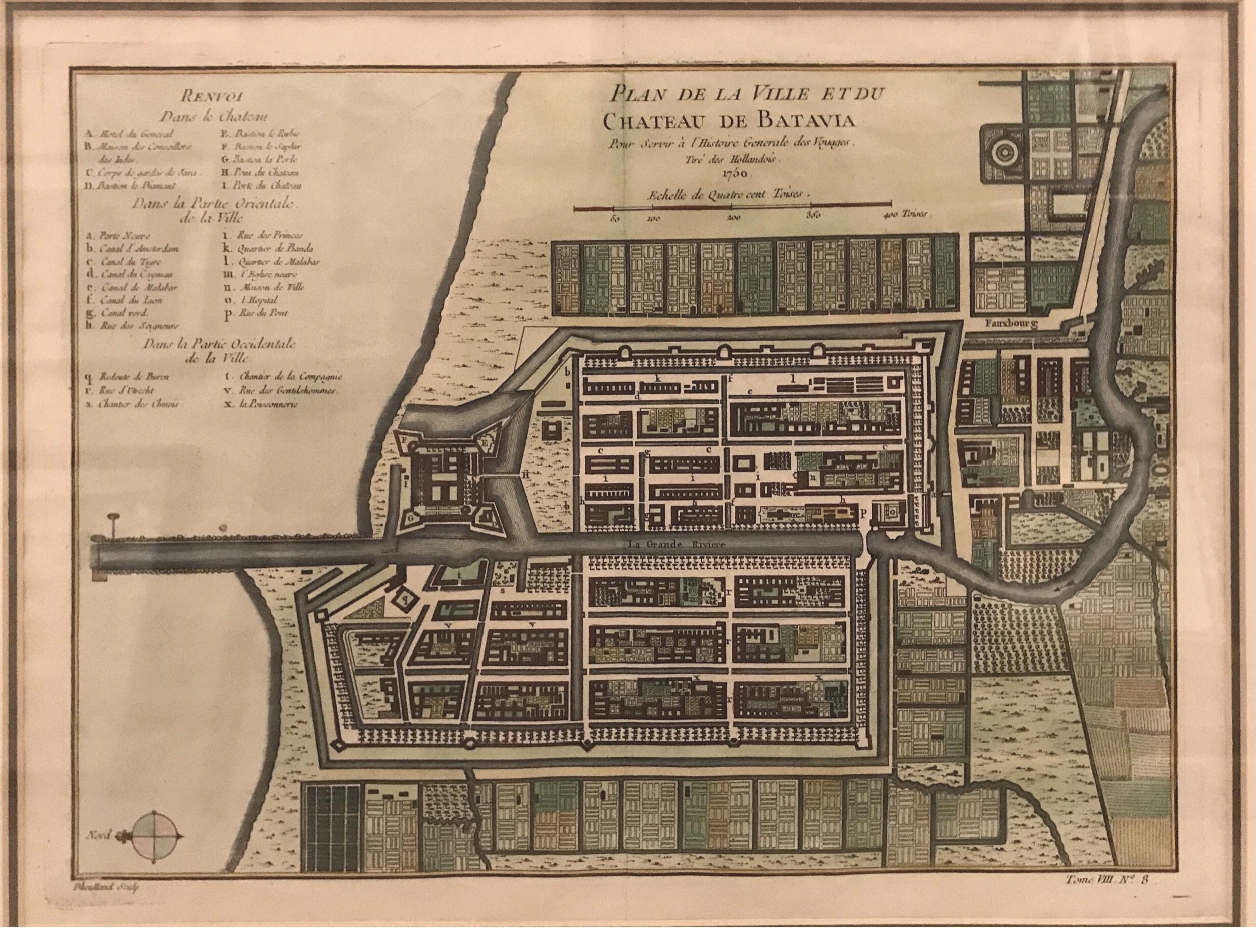 Plan of Batavia - Bellin (1752)