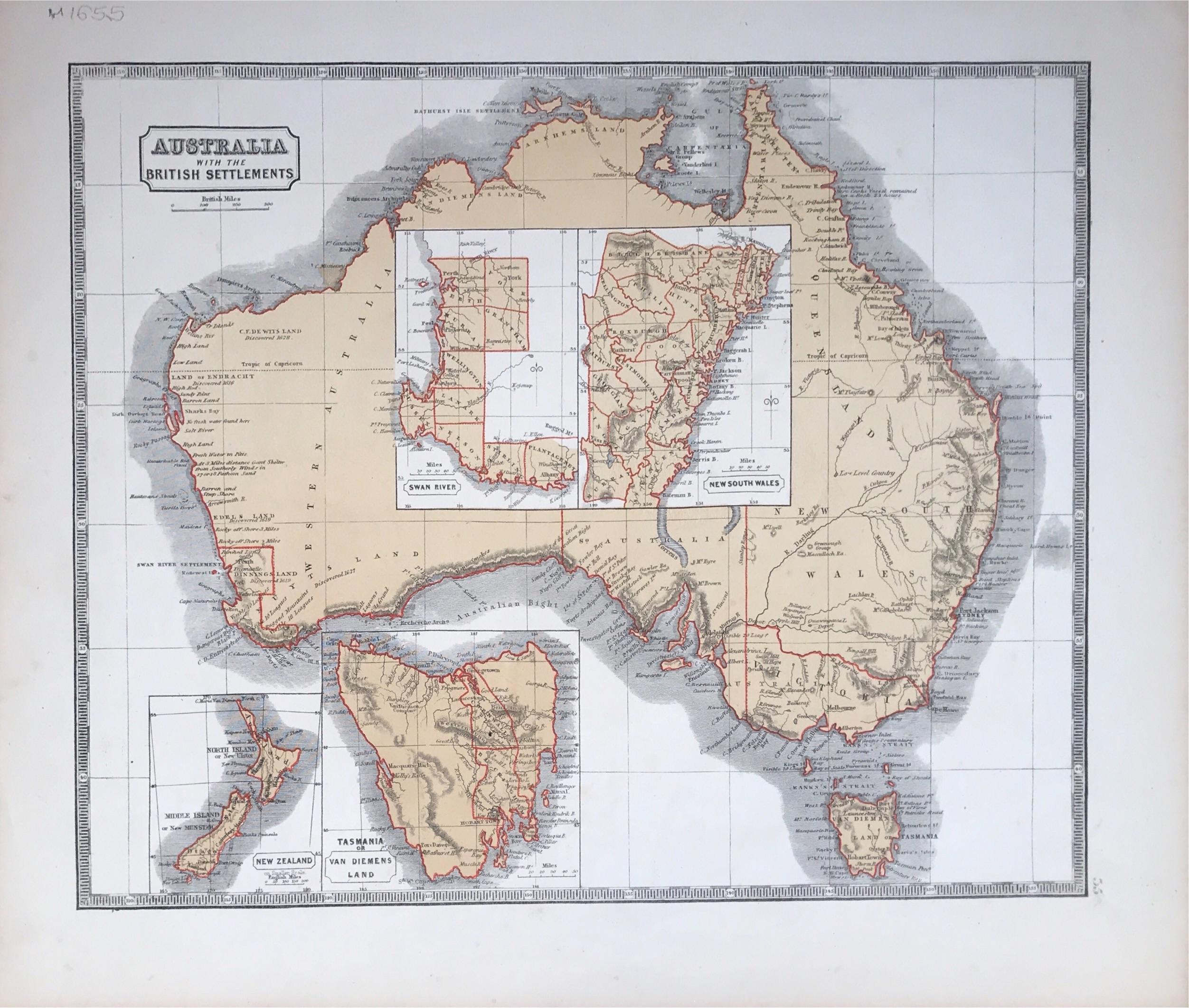 British Settlements in Australia