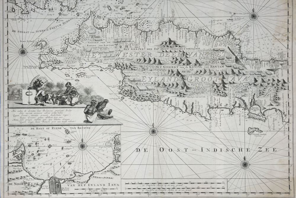Sea Chart of Java - Reland & Keyser(1753)