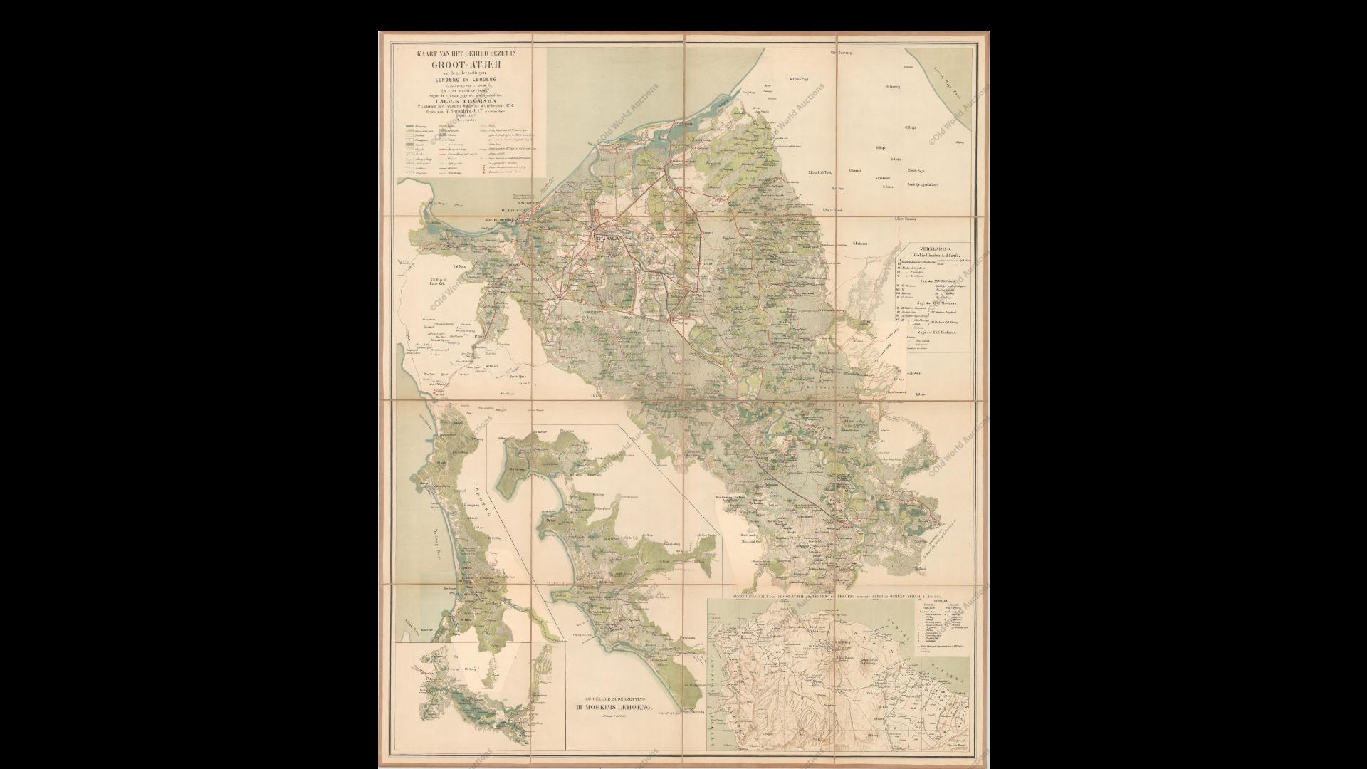 Groot Atjeh - L.W.J.K Thomson (c.1897)